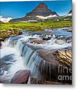 Reynolds Creek Falls Metal Print