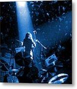 Rg #7 In Blue Metal Print