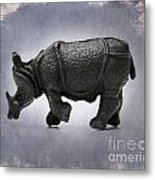 Rhinoceros Metal Print by Bernard Jaubert