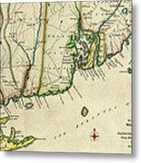 Rhode Island 1780 Metal Print