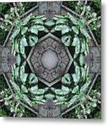 Rhode Island Garden Three Metal Print
