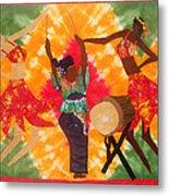 Rhythms Metal Print by Aisha Lumumba