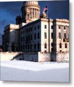 Ri State Capitol 1 Metal Print