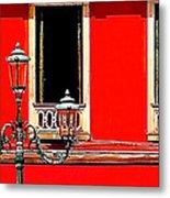 Rialto Red Metal Print