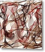 Ribbons Of Life Metal Print
