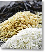 Rice Colors Metal Print