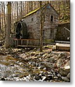 Rice Grist Mill And Threshing Barn  Metal Print