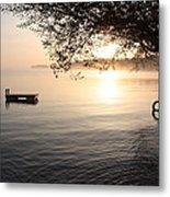Rice Lake Metal Print