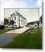 Richard Gambrell Residence In Newport Rhode Island Metal Print