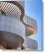 Richard Meier's Getty Architecture I Metal Print