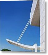 Richard Meier's Getty  Architecture Iv Metal Print