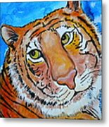 Richard Parker Metal Print by Debi Starr
