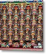 Richly Decorated Temple Ceiling Metal Print