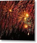 Richmond Fireworks Metal Print