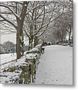 Richmond Hill Snow Metal Print