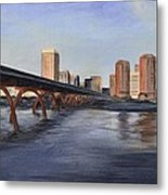 Richmond Virginia Skyline Metal Print