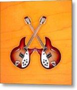 rickenbacker 12-S guitar Metal Print