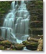 Ricketts Glen Cascading Falls Metal Print