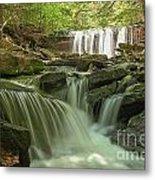 Ricketts Glen Waterfall Cascades Metal Print