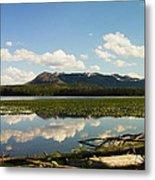Riddle Lake Metal Print