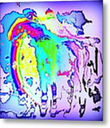 If You Can't Ride A Rainbow  Metal Print