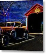 Ride From The Past Metal Print