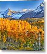 Ride Into The Color Metal Print
