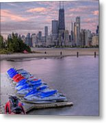 Ride On The Wild Side Metal Print