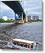 Ride The Ducks Metal Print