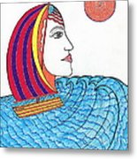Ride The Waves My Lady On The Bay                                           Metal Print