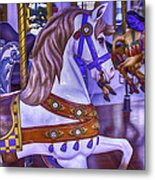 Ride The White Horse Metal Print