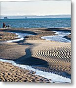 Ride Upon The Sands Metal Print by Trevor Wintle