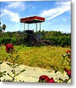 Rideau Vineyards Solvang California Metal Print
