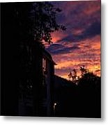 Riders Of The Storm Metal Print