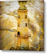 Riding The Wave Metal Print