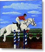 Riding The Wind Metal Print