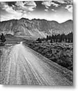 Riding To The Mountains Metal Print