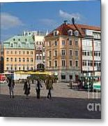 Riga Old Town 3 Metal Print