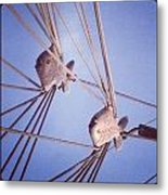 Rigging Metal Print by Maeve O Connell