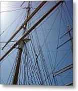 Rigging Of The Constitution Metal Print
