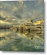 Rijeka Yachts  Metal Print
