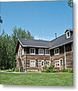 Rika's Roadhouse In Big Delta State Historical Park-ak Metal Print