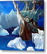 Rime Of The Ancient Mariner A Tribute To Gustave Dore Metal Print
