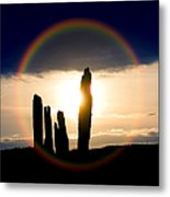 Ring Of Brodgar Orkney  Metal Print by Tim Gainey