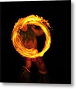 Ring Of Fire Metal Print by Mike  Dawson