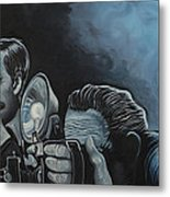 Ringside Press Metal Print