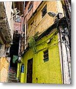 Rio De Janeiro Brazil -  Favela Housing Metal Print