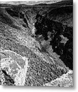 Rio Grande Gorge - Taos New Mexico Metal Print