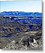 Rio Grande River Canyon-arizona Metal Print
