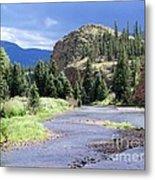 Rio Grande River Landscape Metal Print